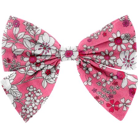 Bow tie hair slide pink violette