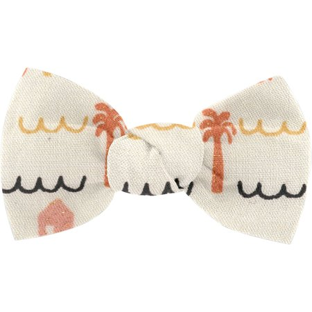 Small bow hair slide   copa-cabana