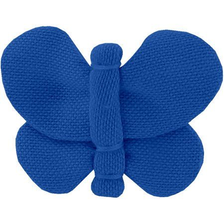 Butterfly hair clip navy blue