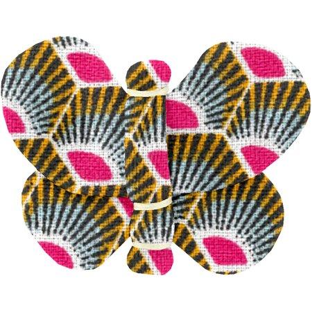 Butterfly hair clip palmette