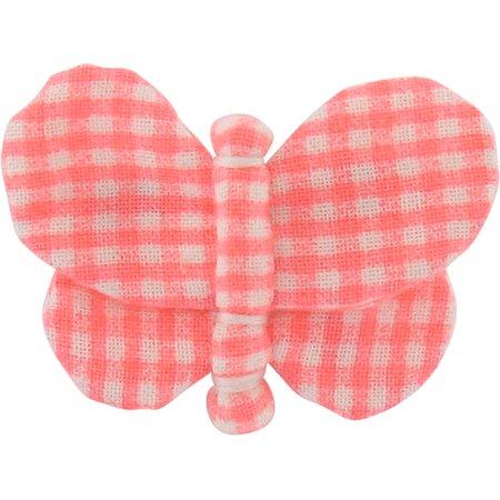 Barrette petit papillon vichy peps