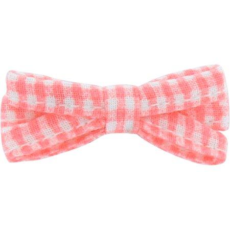 Ribbon bow hair slide vichy peps