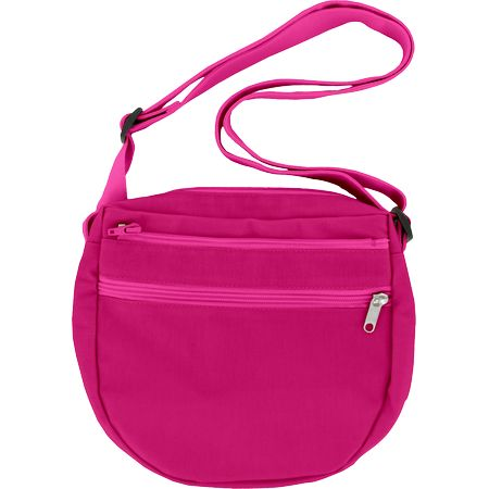 Base de mini bolso cruzado fucsia