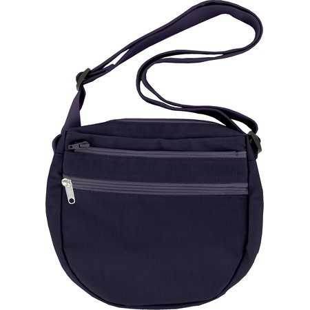 Base of small saddle bag plum