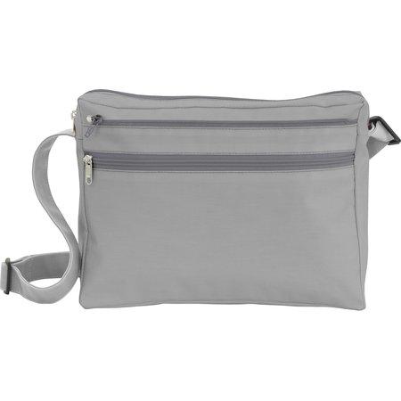 Base of satchel bag grey