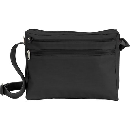 Base sac besace carrée noir