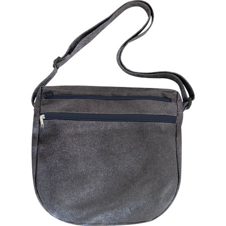 Base of saddle bag  suédine noire