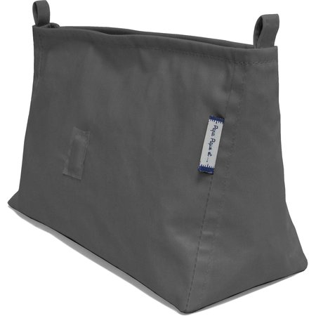 Base of shoulder bag anthracite gray