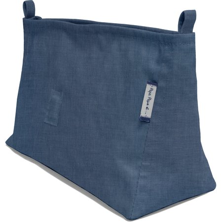 Base of shoulder bag jean back
