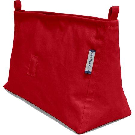 Base of shoulder bag red