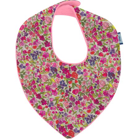 bandana bib purple meadow