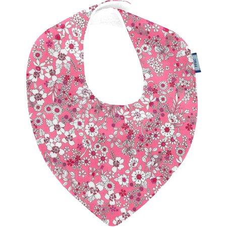 bandana bib pink violette