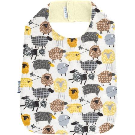 Bib - Child size yellow sheep