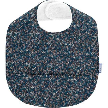 Coated fabric bib paquerette marine