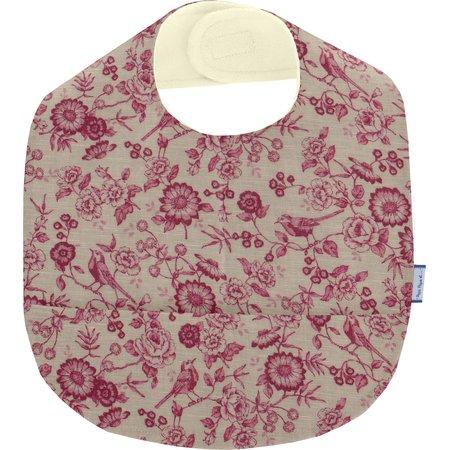 Bavoir tissu plastifié rossignol