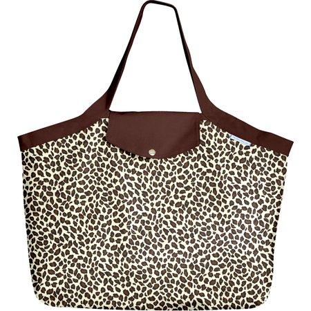 Grand sac cabas panthère