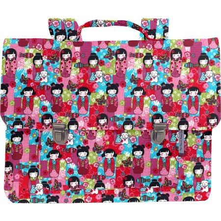 Kids satchel bag kokeshis