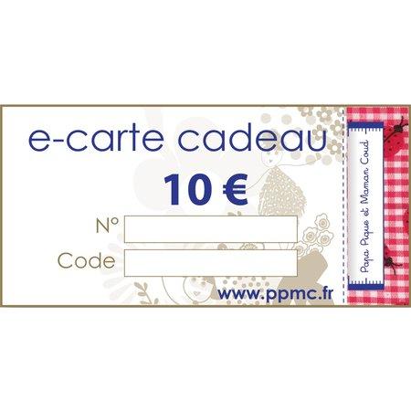 Carte cadeau 10,00 €