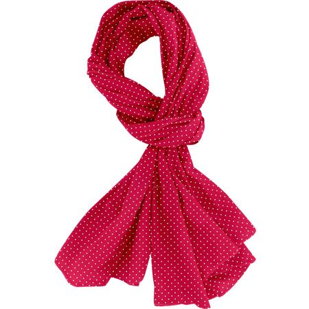 Shawl red spots