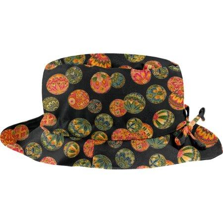 sombrero de lluvia ajustable T2  burbujas doradas