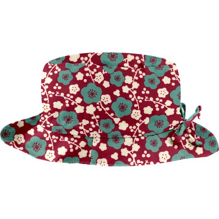 Chapeau pluie ajustable T3 cerisier rubis jade
