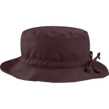 Rain hat adjustable-size T3 brown