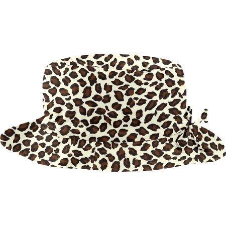 Chapeau pluie ajustable T3 panthère