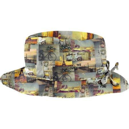 Chapeau pluie ajustable T3  vintage