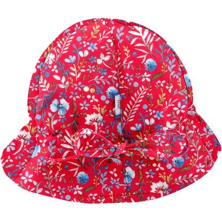 Chapeau soleil charlotte bleuets cherry