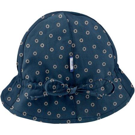 Chapeau soleil charlotte bulle bronze marine