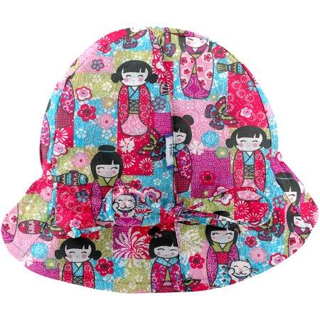 Chapeau soleil charlotte ajustable kokeshis