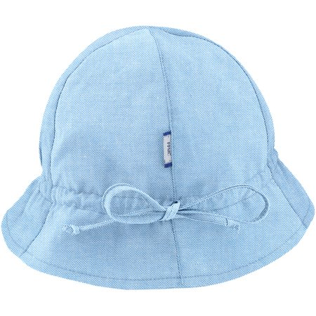 Sun Hat for baby oxford blue