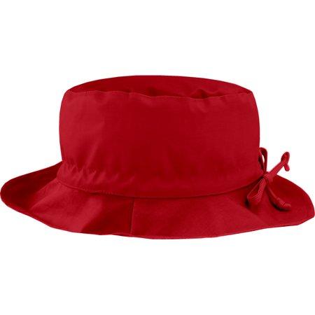 Chapeau pluie ajustable T2  rouge