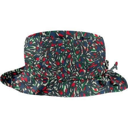Rain hat adjustable-size 2   tulipes