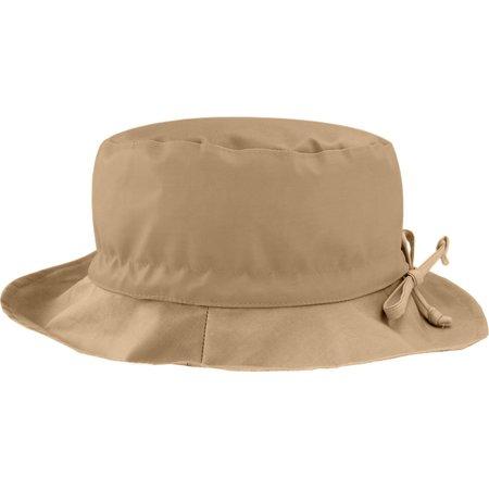 Rain hat adjustable-size T3 camel