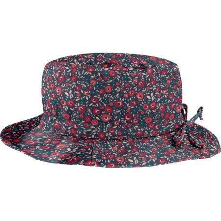 Chapeau Pluie Ajustable Femme T3 camelias rubis
