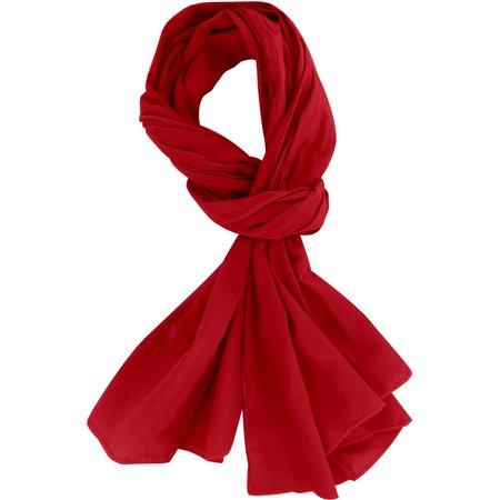 Shawl red