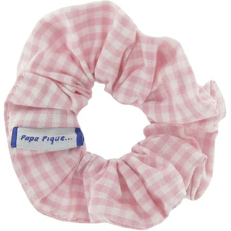Small scrunchie pink gingham