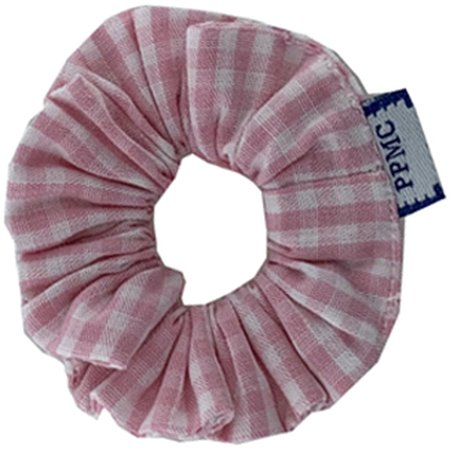 Mini Scrunchie pink gingham