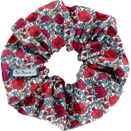 Scrunchie poppy