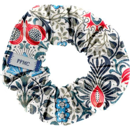 Small scrunchie azulejos