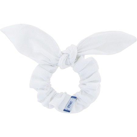 Chouchou nœud  blanc