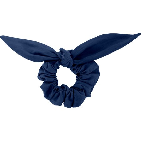 Bunny ear Scrunchie ink blue