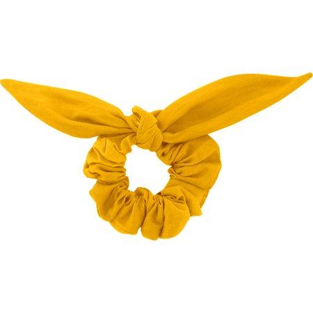 Bunny ear Scrunchie yellow ochre