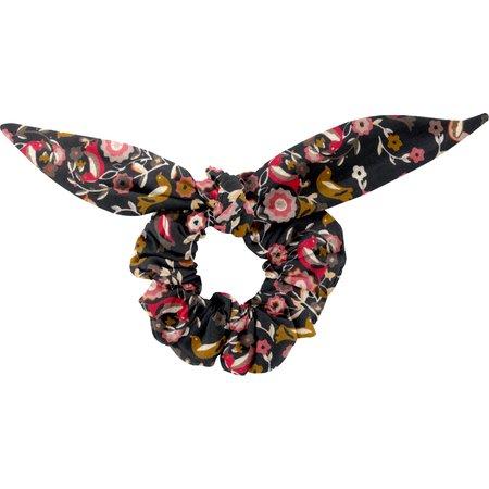 Chouchou nœud   oiseau ocre