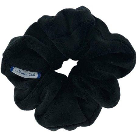 Small scrunchie black velvet