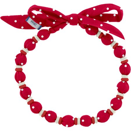 Chlidren necklace red spots