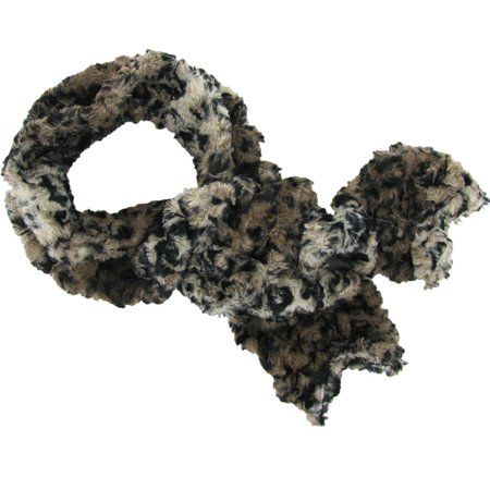 Twisted fleece scarf savannah