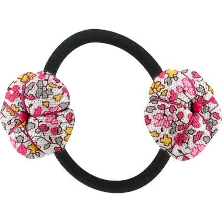 Elastique fleur du japon jasmin rose