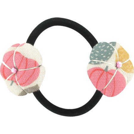 Japan flower pony-tail holder summer sweetness